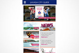 Lavasa City Guide (Android & iOS Mobile App)